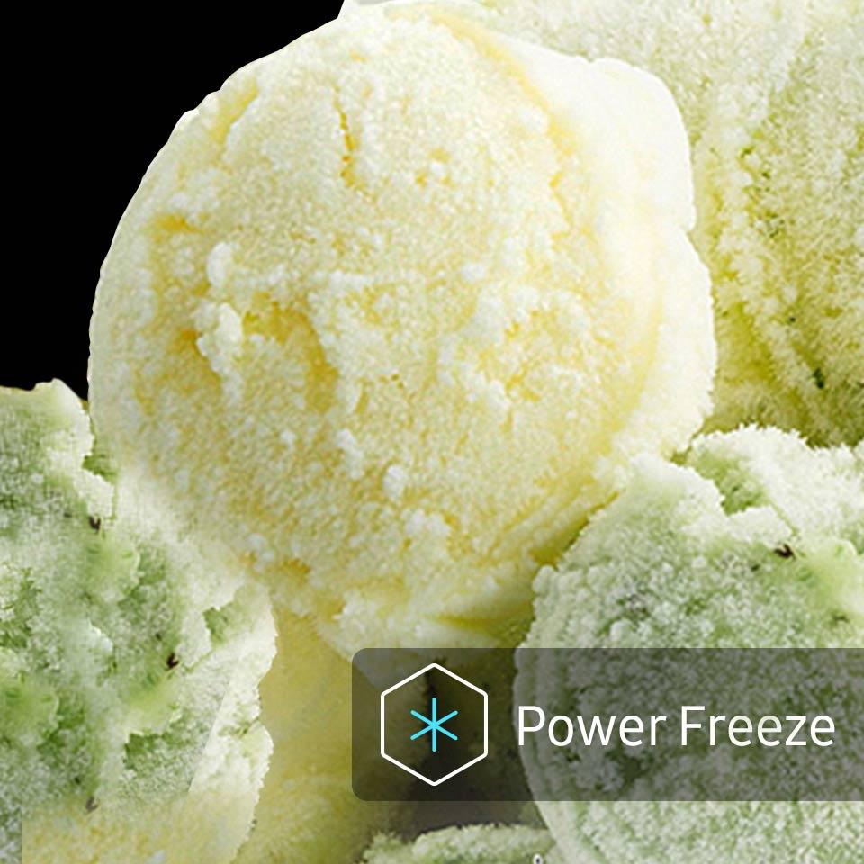 Funkce Power Freeze