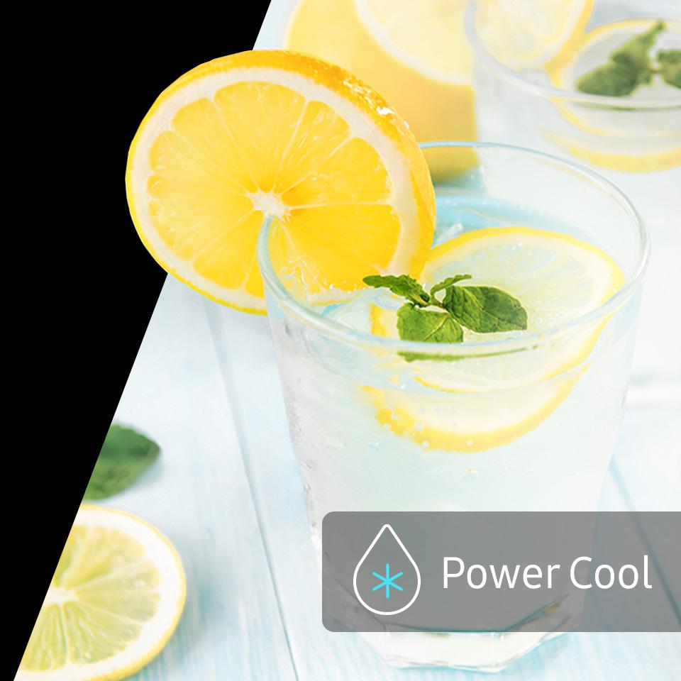 Funkce Power Cool
