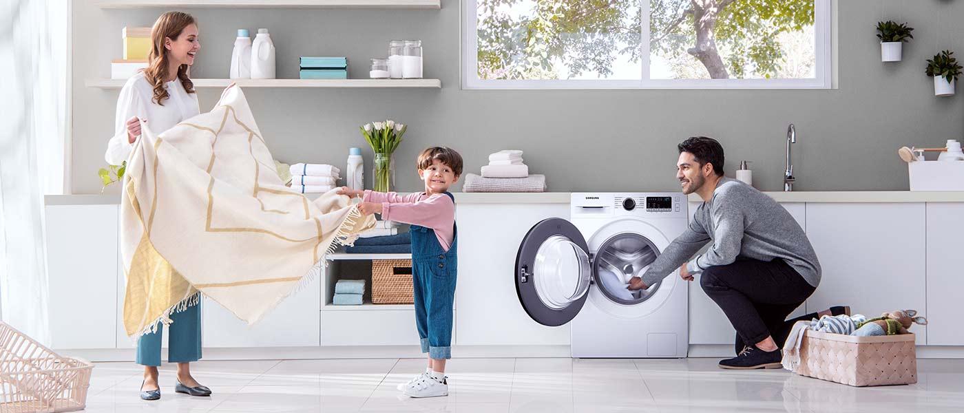 Co jeszcze oferuje pralka Samsung?